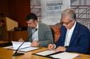 El Departament de Cultura i la Fundació Tarragona 2017 signen un conveni de col·laboració en matèria d'usos lingüístics dels XVIII Jocs Mediterranis