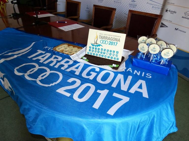 El Gremi d'Artesans Pastissers de les Comarques de Tarragona promocionarà els Jocs Mediterranis
