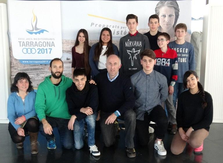L'Institut El Morell presenta els seus projectes guanyadors del concurs de secundària sobre el llegat de Tarragona 2017