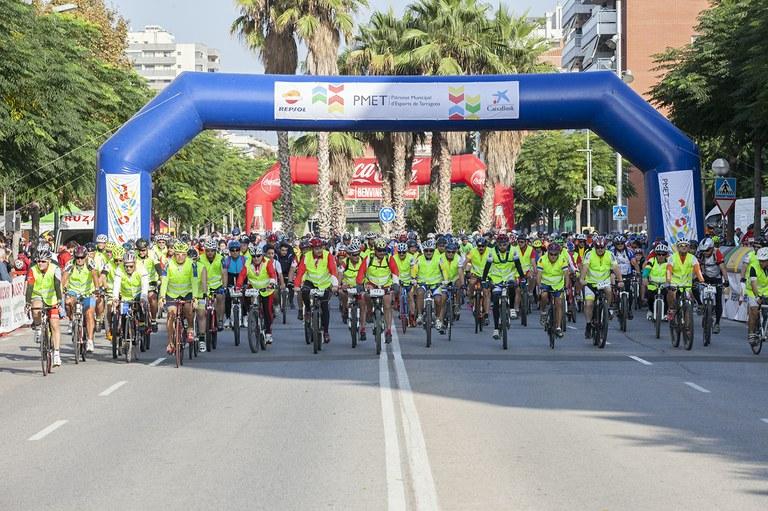 Prop de 3.000 participants a la 26a. Bicicletada de Tarragona
