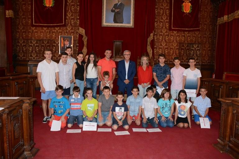 Reconeixement de l'Ajuntament de Tarragona al Club Karate Sinhus Sport