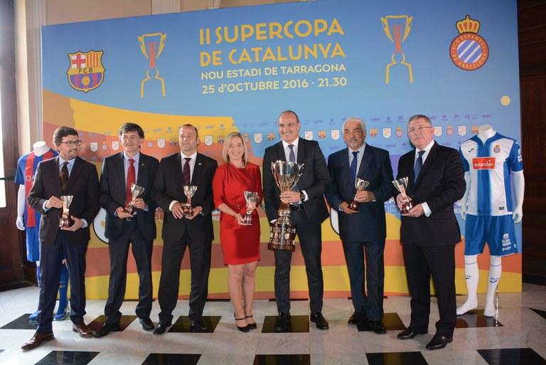 Tarragona es bolca en la Supercopa de Catalunya