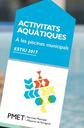 Dilluns comencen les inscripcions a les activitats d'estiu de les piscines municipals