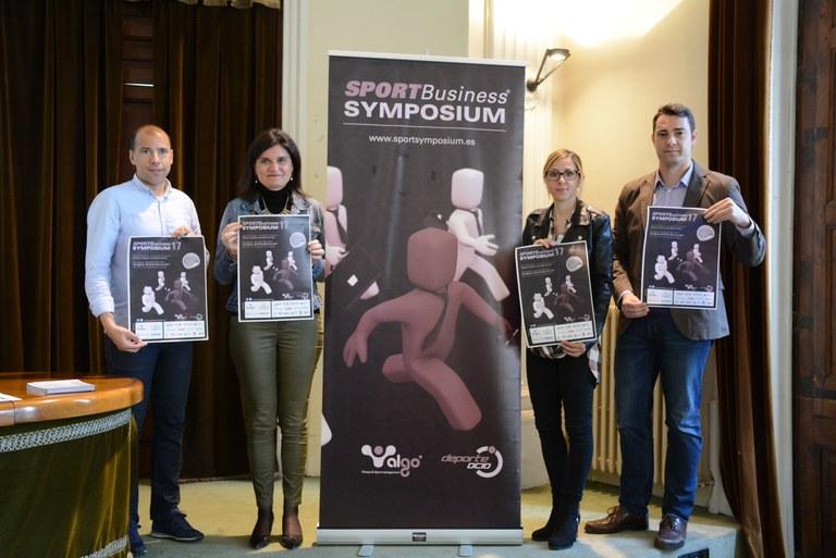 Els medallistes olímpics Jou Llorente i Tania Lamarca, protagonistes del congrés Sport Business Symposium 2017
