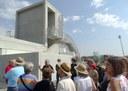 Els voluntaris de Tarragona 2018 visiten l'Anella Mediterrània abans de la seva obertura