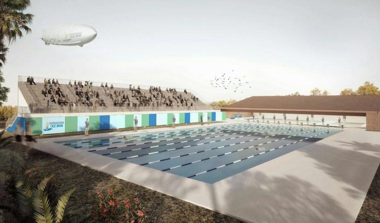 L'Ajuntament adjudica la piscina de 50 metres i el desmantellament de l'autovia A-7