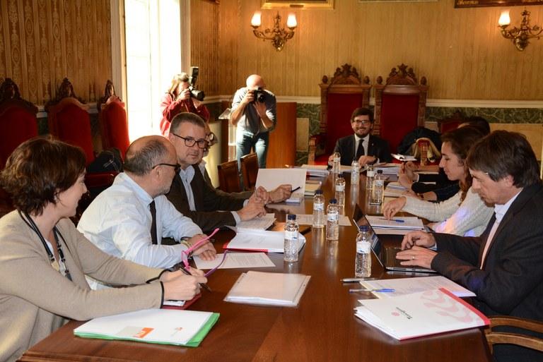 L'ajuntament i la Generalitat encarreguen un informe sobre els models de gestió de les instal·lacions esportives de l'Anella Mediterrània