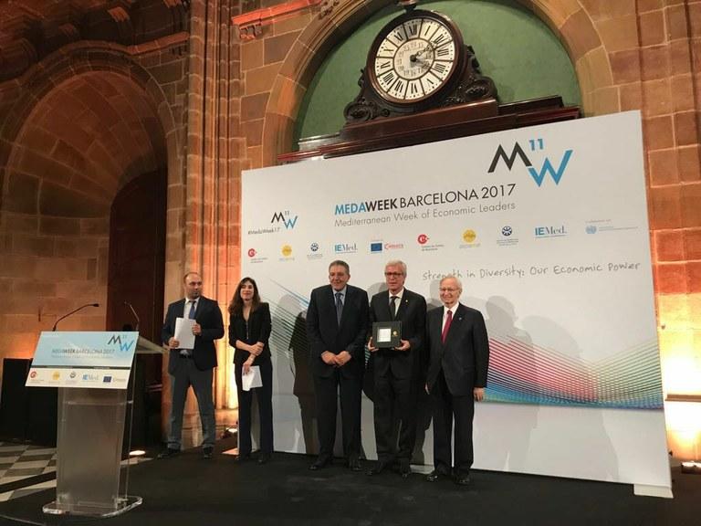 """L'alcalde Ballesteros assegura que els Jocs Mediterranis """"seran un èxit i Tarragona, Catalunya i Espanya tornaran a demostrar la seva capacitat per organitar les majors competicions esportives com els Jocs Olímpics del 92"""""""