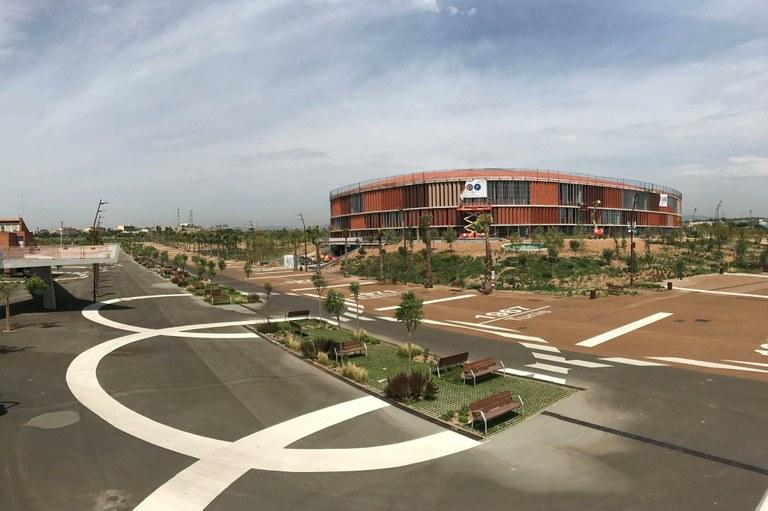 Vuit empreses opten a construir la piscina de 50 metres de l'Anella Mediterrània