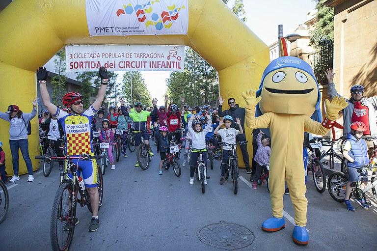 3.500 persones participen en la 28a Bicicletada Popular de Tarragona