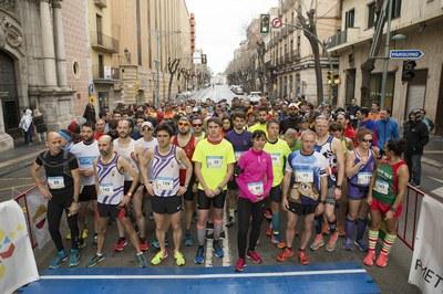 700 persones participen en la 29a Pujada al Llorito + Caminada Popular