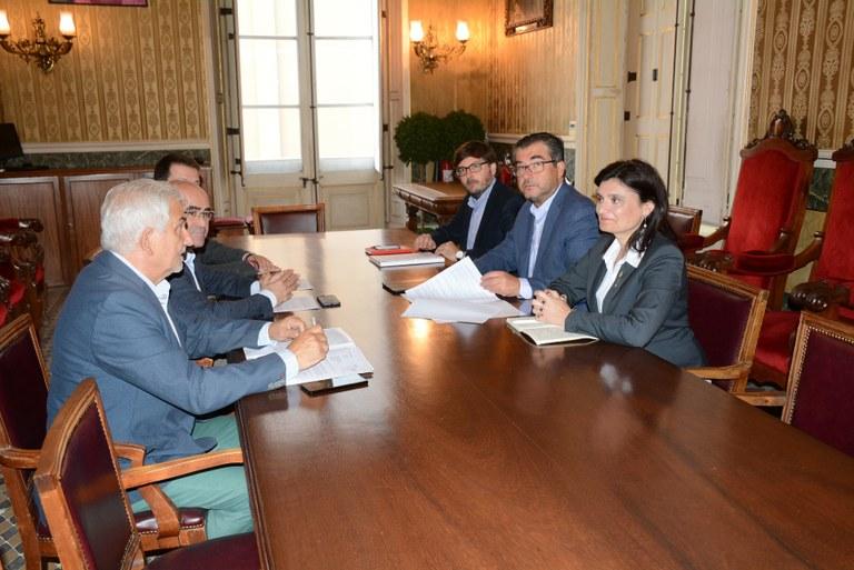 Ajuntament i Generalitat arriben a un acord sobre la gestió del Palau d'Esports Catalunya