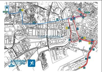 Circuit de la Mitja Marató dels Jocs Mediterranis
