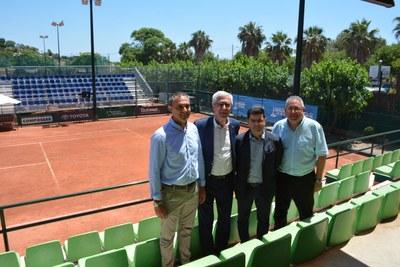 El Club de Golf Costa Daurada i el Tennis Tarragona, a punt per acollir les competicions dels Jocs