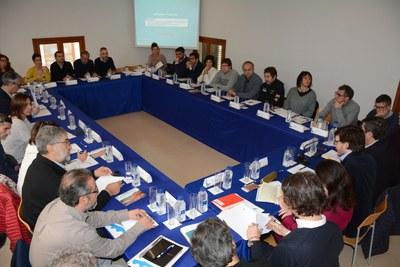 Els Jocs Mediterranis Tarragona 2018 concreten aspectes operatius amb els municipis seu