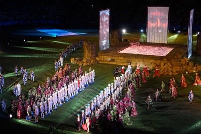 Inaugurats els XVIII Jocs Mediterranis