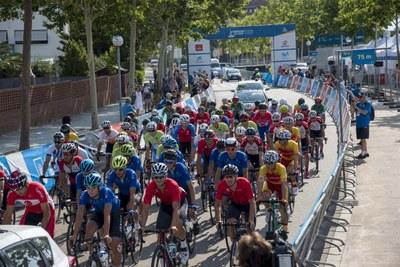 Jalel Duranti s'emporta l'or en la modalitat de ciclisme en ruta masculí a Vila-seca