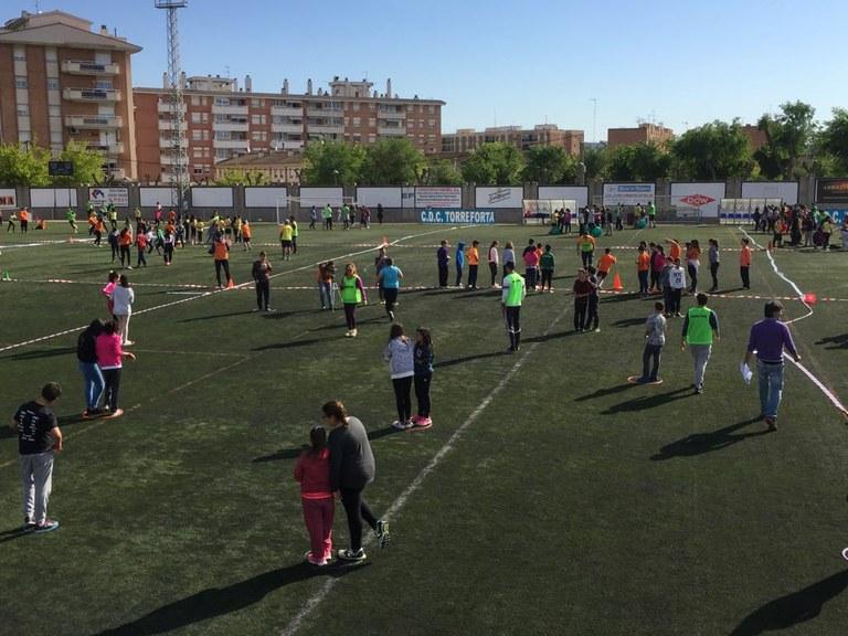 La II Trobada Lúdica de les escoles de Ponent reunirà divendres més de 800 infants a l'Anella Mediterrània
