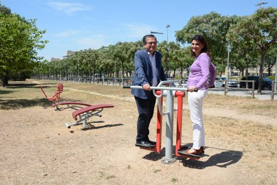 L'Ajuntament amplia i potencia els parcs bio saludables a la via pública