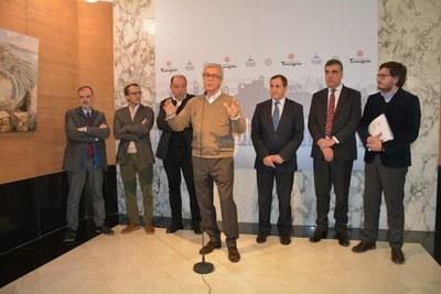 Les televisions públiques ratifiquen el compromís d'una àmplia cobertura dels Jocs Mediterranis
