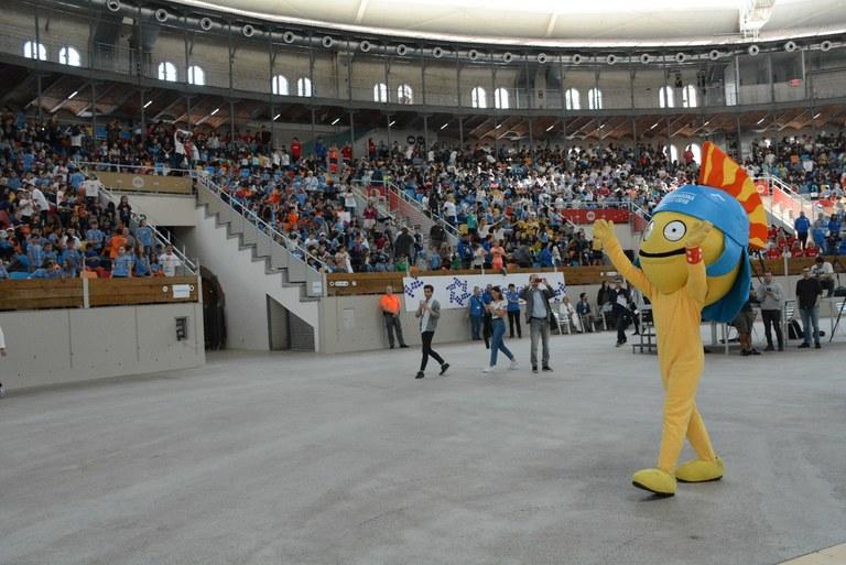Més de 2000 alumnes d'escoles de la demarcació estrenen 'Juguem per viure', la cançó oficial dels Jocs Mediterranis Tarragona 2018