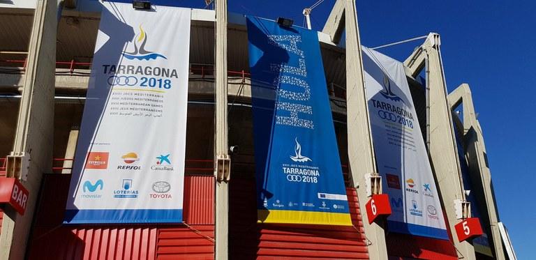Nota informativa: Inauguració dels Jocs Mediterranis