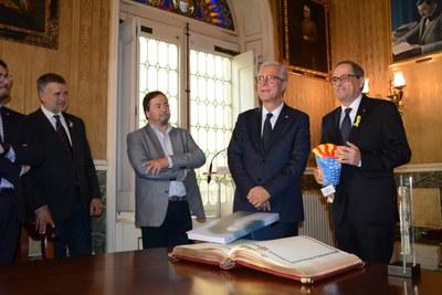 S'inaugura el Palau d'Esports Catalunya a l'Anella Mediterrània