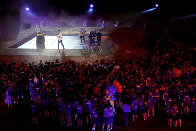 Tarragona passa el relleu a Orà per a la celebració dels XIX Jocs Mediterranis