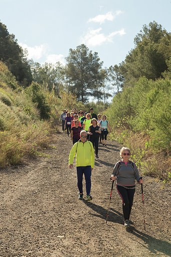 755 persones participen en la 30a Pujada al Llorito + Caminada Popular