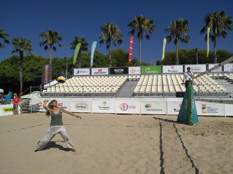 Comença el Madison Beach Volley Tour Tarragona International Open Trofeu Repsol 2019