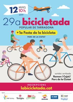 La Bicicletada Popular de Tarragona torna el 12 de maig amb grans novetats