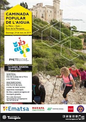 La Caminada Popular de l'Aigua recorrerà la Móra, el Gaià i el Bosc de la Marquesa