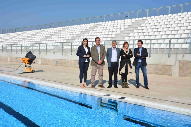 La piscina Sylvia Fontana acollirà aquest estiu dos campionats de la Federació Espanyola de Natació
