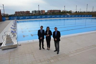 La piscina Sylvia Fontana acollirà cinc competicions de la Federació Catalana de Natació