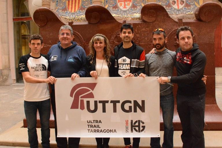 Pau Capell, Jordi Gamito i Isaac Riera, a la Ultra Trail Tarragona