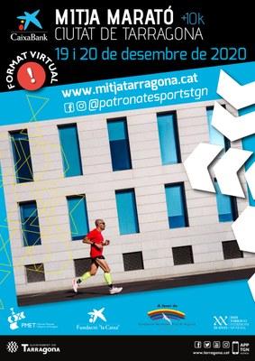 Aquest any, la Mitja Marató i els 10k Ciutat de Tarragona seran virtuals