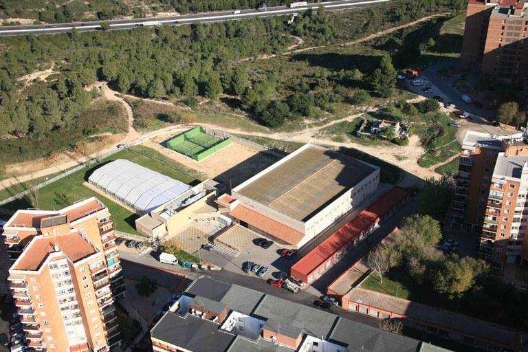 L'Ajuntament de Tarragona anuncia la licitació de les obres de reforma de la coberta del poliesportiu de Sant Pere i Sant Pau