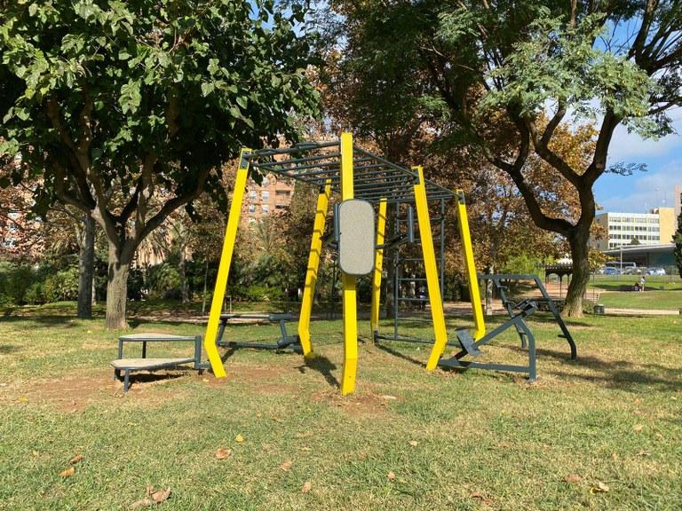 L'Ajuntament de Tarragona instal·la 12 equipaments esportius exteriors