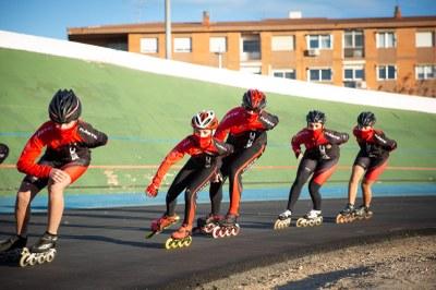 L'Ajuntament de Tarragona presenta la nova pista de patinatge de l'Anella Mediterrània