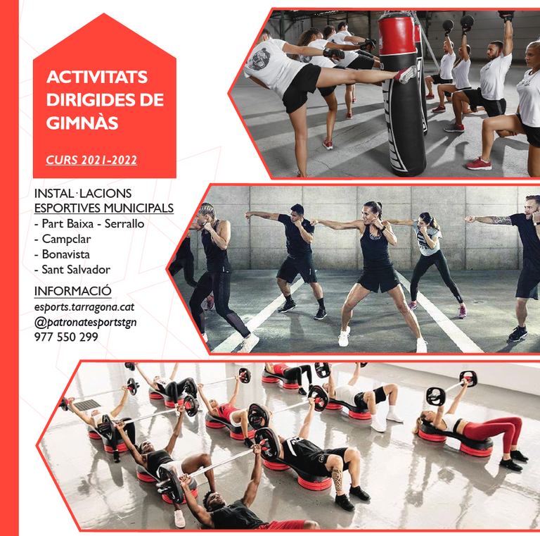 Comença el curs 2021-2022 de les activitats dirigides de gimnàs a les instal·lacions del PMET
