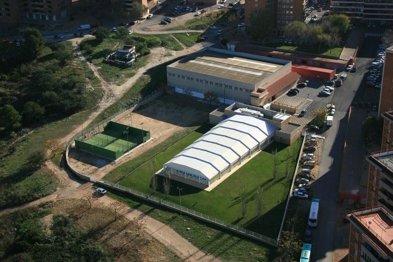 El Patronat Municipal d'Esports adjudica la renovació de la teulada del poliesportiu de Sant Pere i Sant Pau