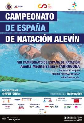 Tarragona acull a partir d'aquest dimecres el Campionat d'Espanya de Natació Aleví