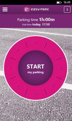 Portada de l'app Easy Park