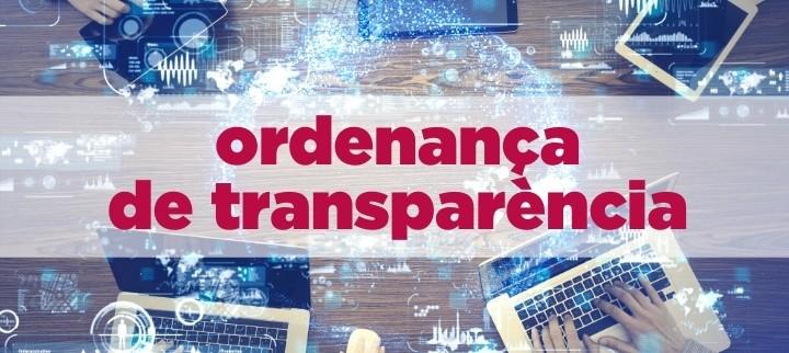 Ordenança de transparència