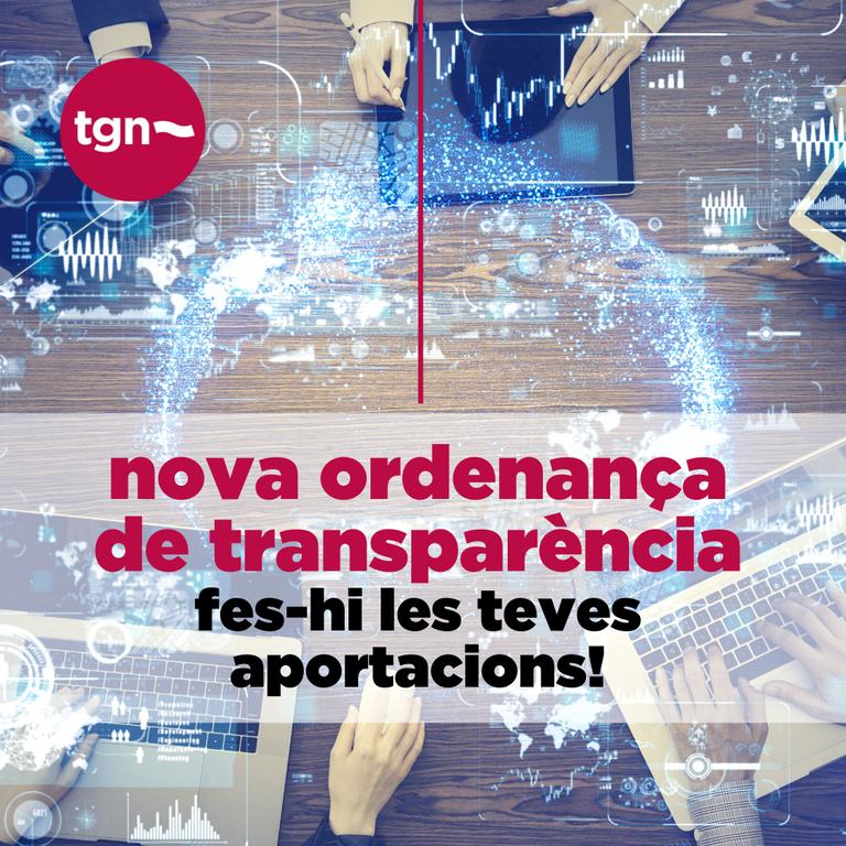 Tarragona tindrà una nova ordenança de transparència