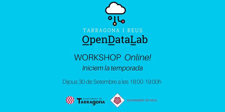 """Open Data Lab presenta el resultat del projecte col·laboratiu """"Dades reactivació econòmica i social COVID-19 al Camp de Tarragona"""""""