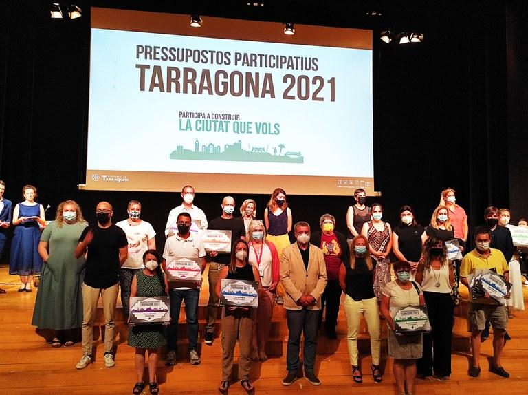 Quinze projectes guanyen la votació dels pressupostos participatius de Tarragona
