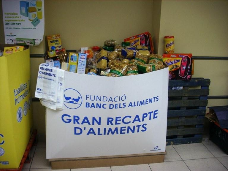 El Banc dels Aliments busca voluntaris