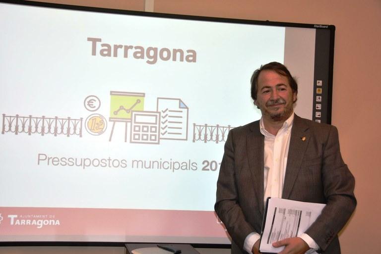 L'Ajuntament presenta els pressupostos per al 2018
