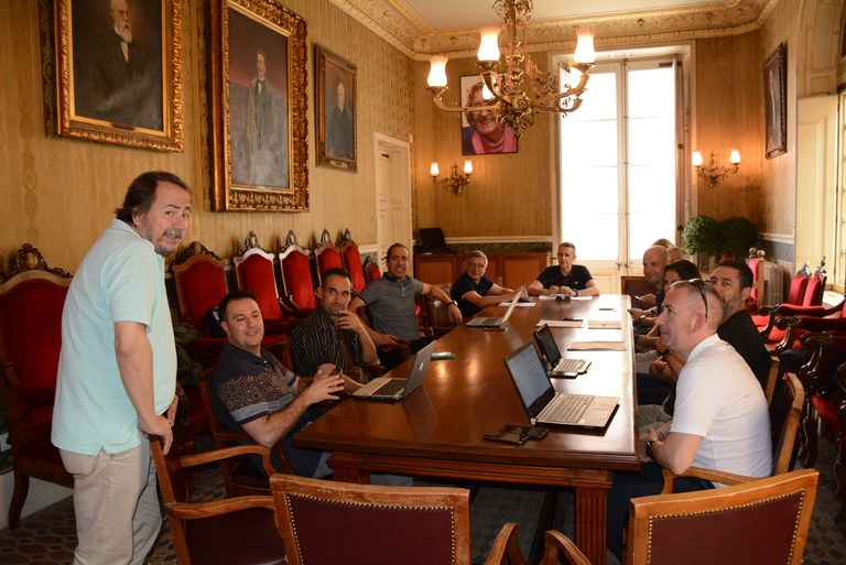 L'ajuntament de Tarragona acull una reunió de treball d'onze ajuntaments i consells comarcals integrats a l'SmartCatSud